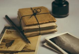 Old Paper Parcel