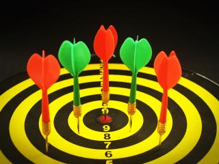 Accuracy-bullseye-dartboard-226575